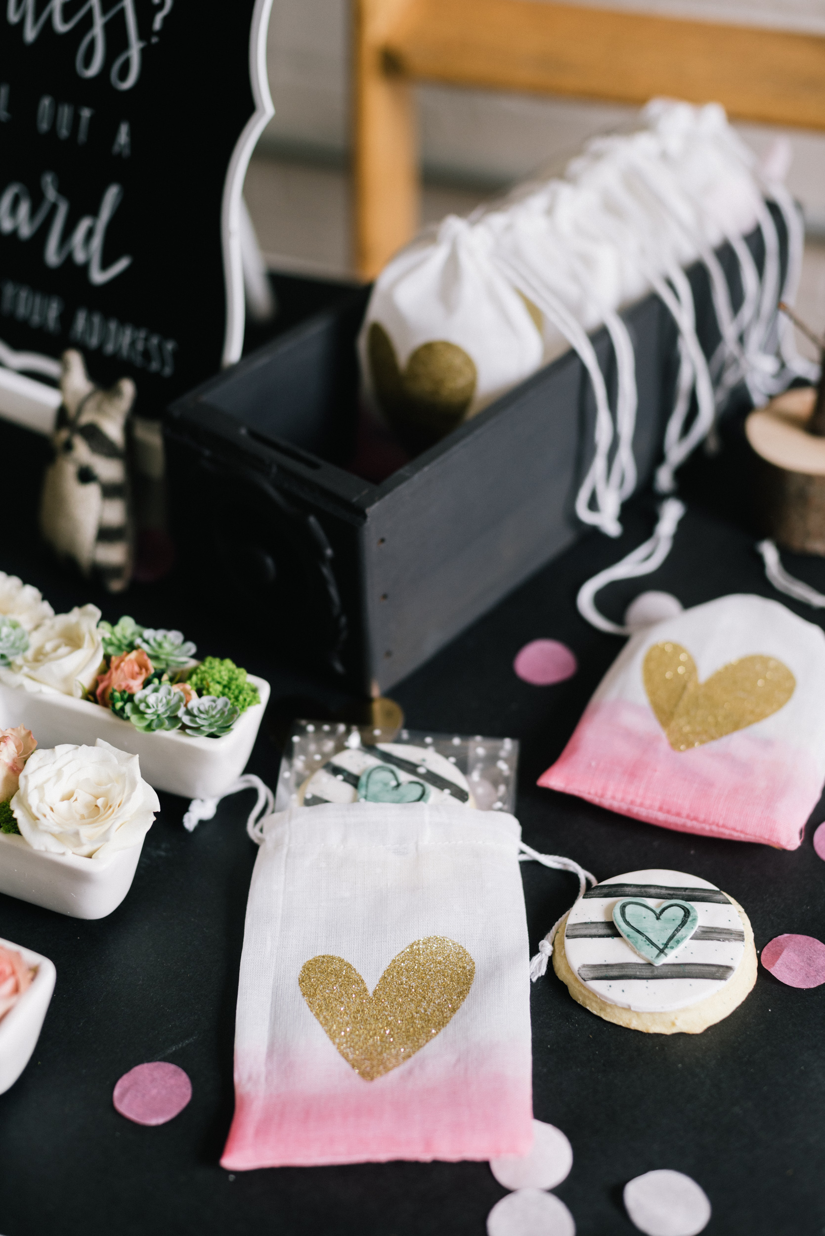 Party favour bags by  Creative Bag Co.