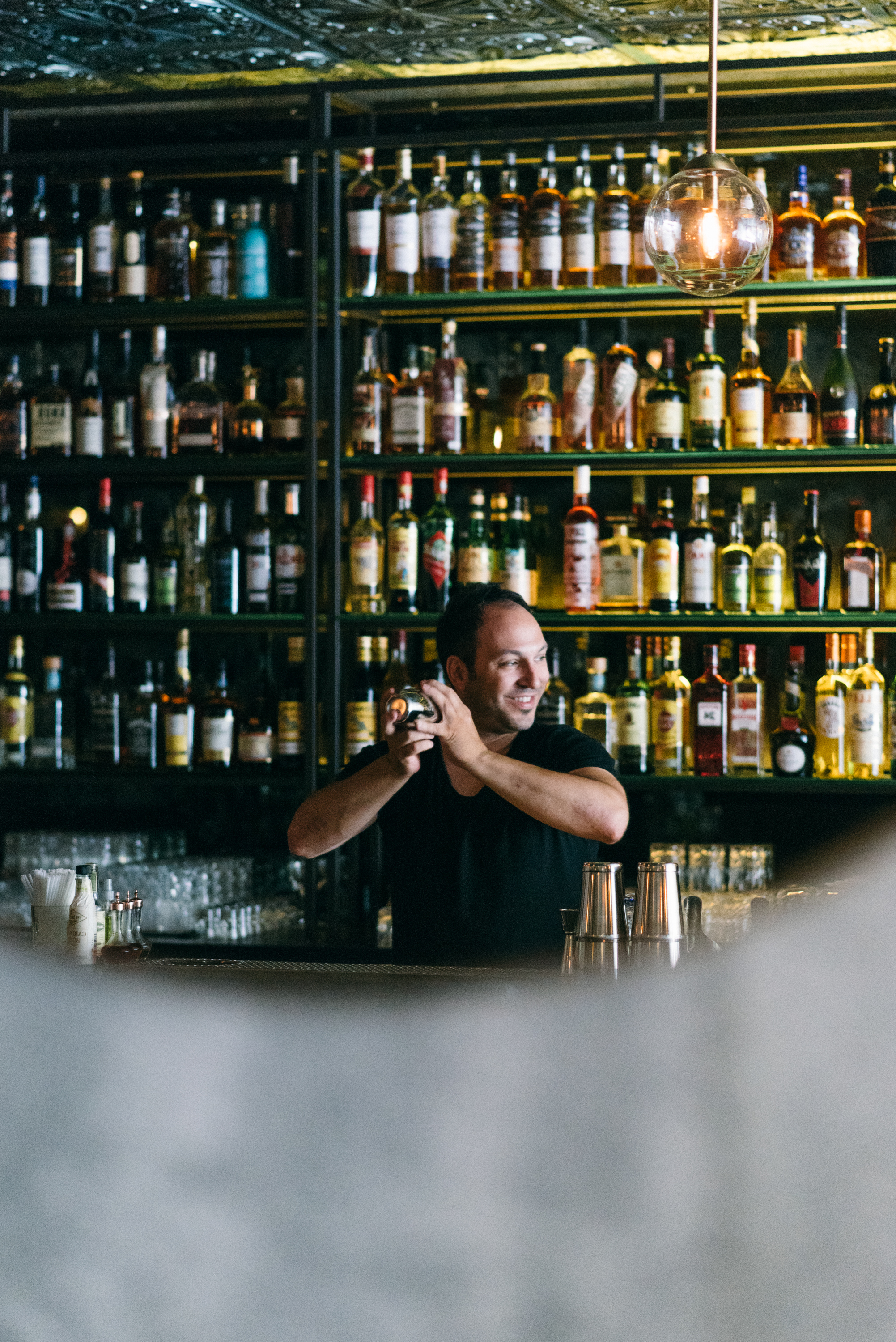 Co-owner and bar manager Brad
