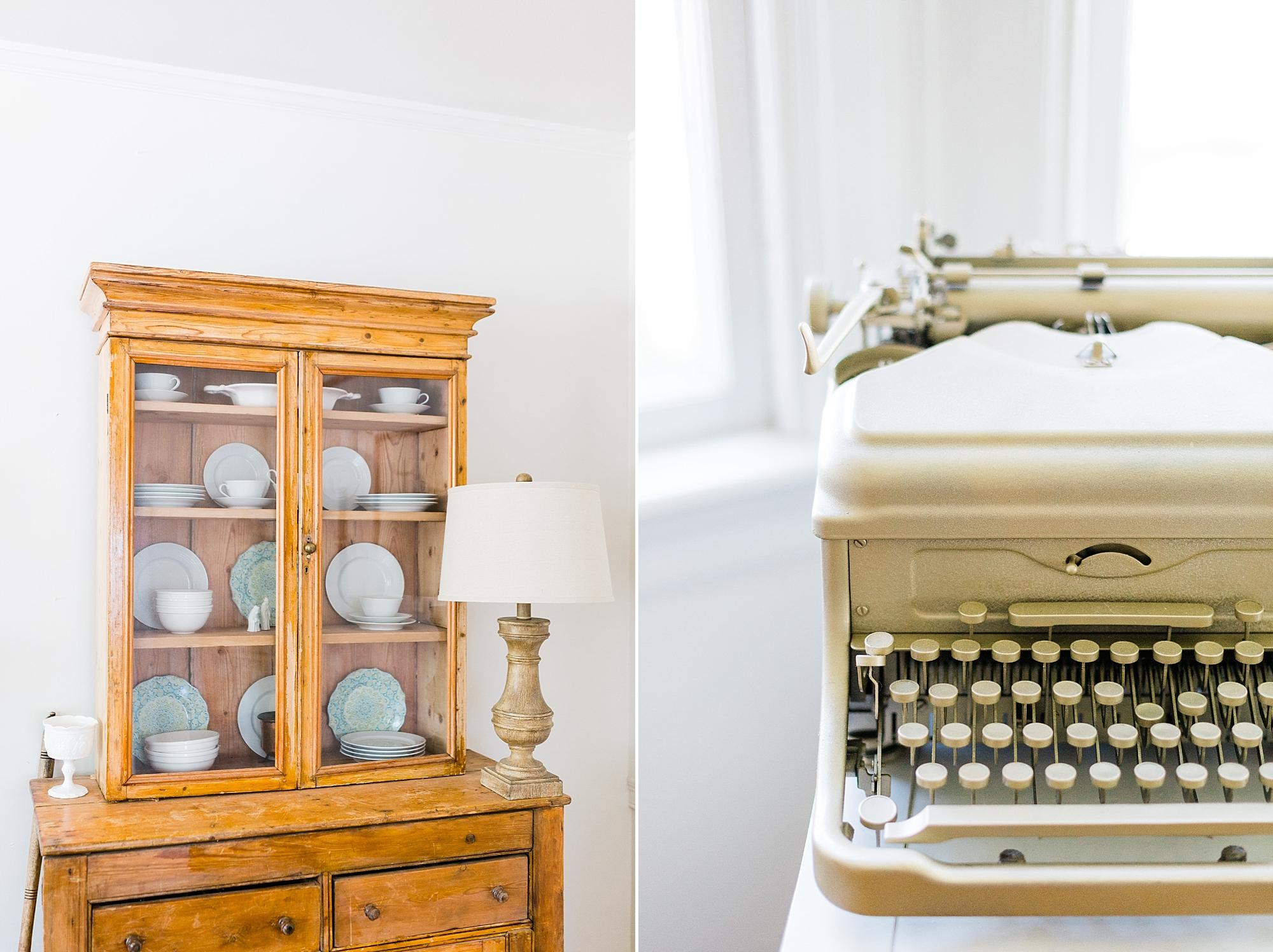 Vintage Decor - New Hampshire Home - Madison Rae Photography