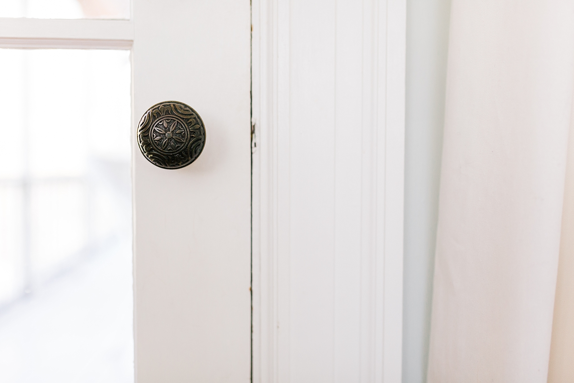 Vintage Door Knob - New Hampshire Home - Madison Rae Photography