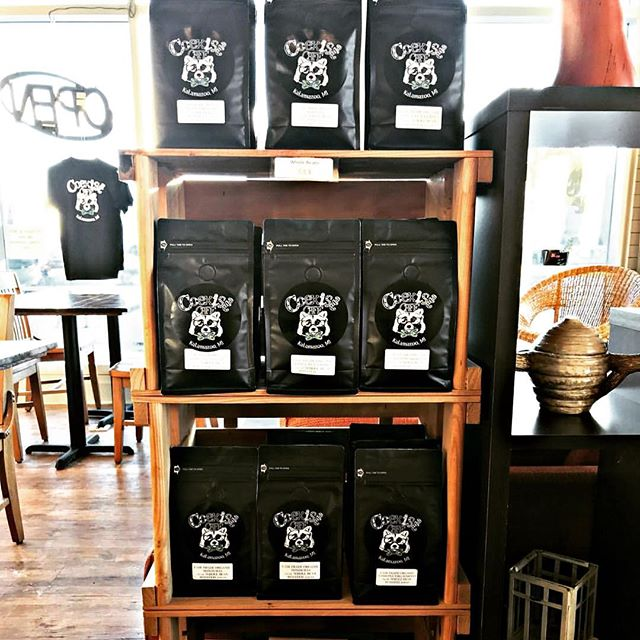 Visit our friends at @coexistcafe today and pick up a fresh bag of coffee!  We are so happy to continue to supply them with wonderful locally roasted coffee.  We have been working with Rebecca & Sam since they first opened their doors and love how creative their cafe is! ♥️ While you're there...get a coffee for sure☕️👍 but also check out their delicious sandwich & pastry selection! 🥪🍪🌯Coexist Cafe is located across from @westernmichu on the corner of Howard & Michigan Ave.  #euphoriacoffeeco #coexistcafe #kalamazoo #wmu #kcollege #cafe #localcoffee #michigancoffee #kzoo #discoverkzoo #coffee #coffeeroaster #kalamazoomichigan #specialtycoffee #coffeetime #lunchtime #studytime