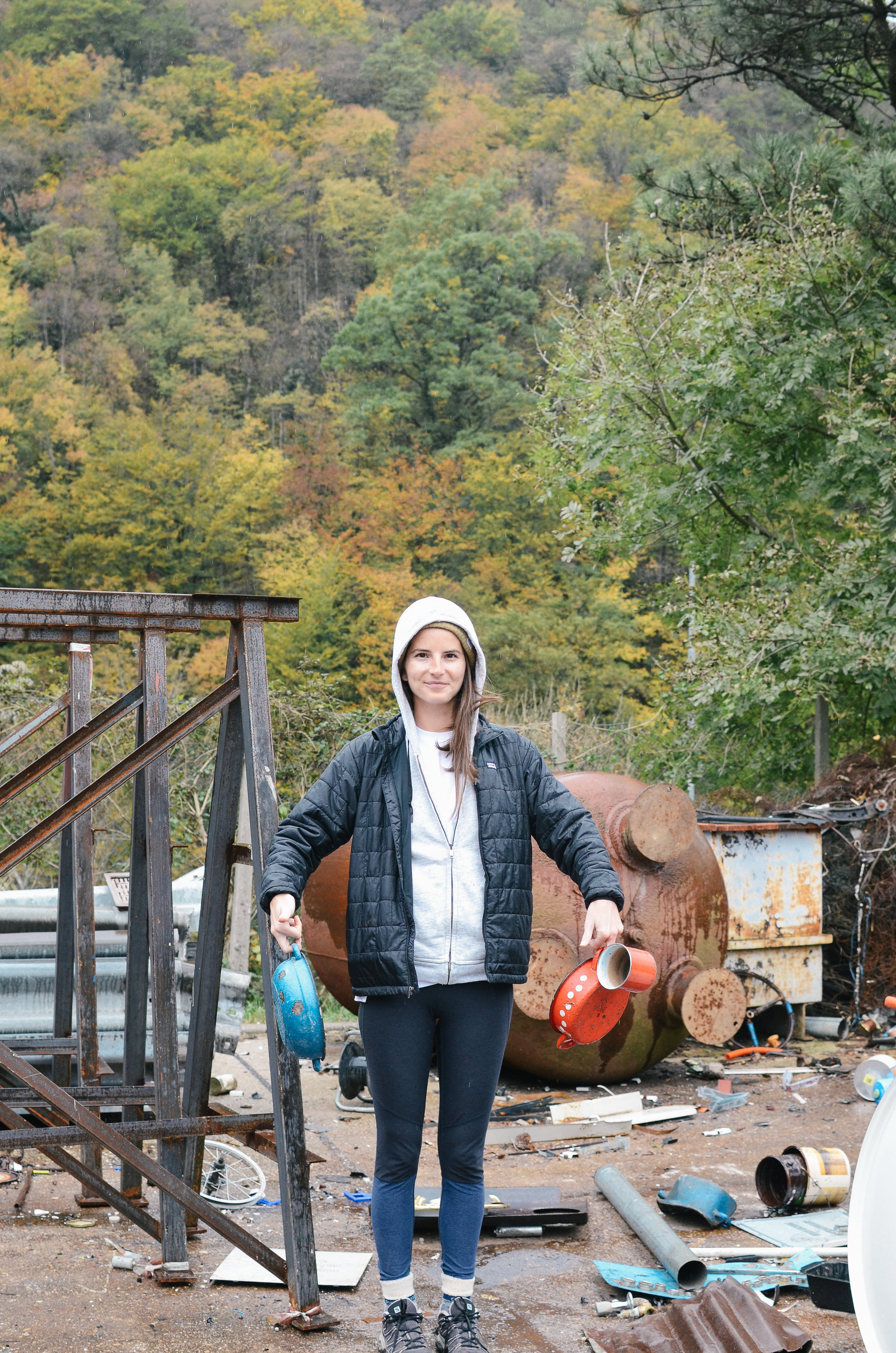 ^^ scenes from the junkyard