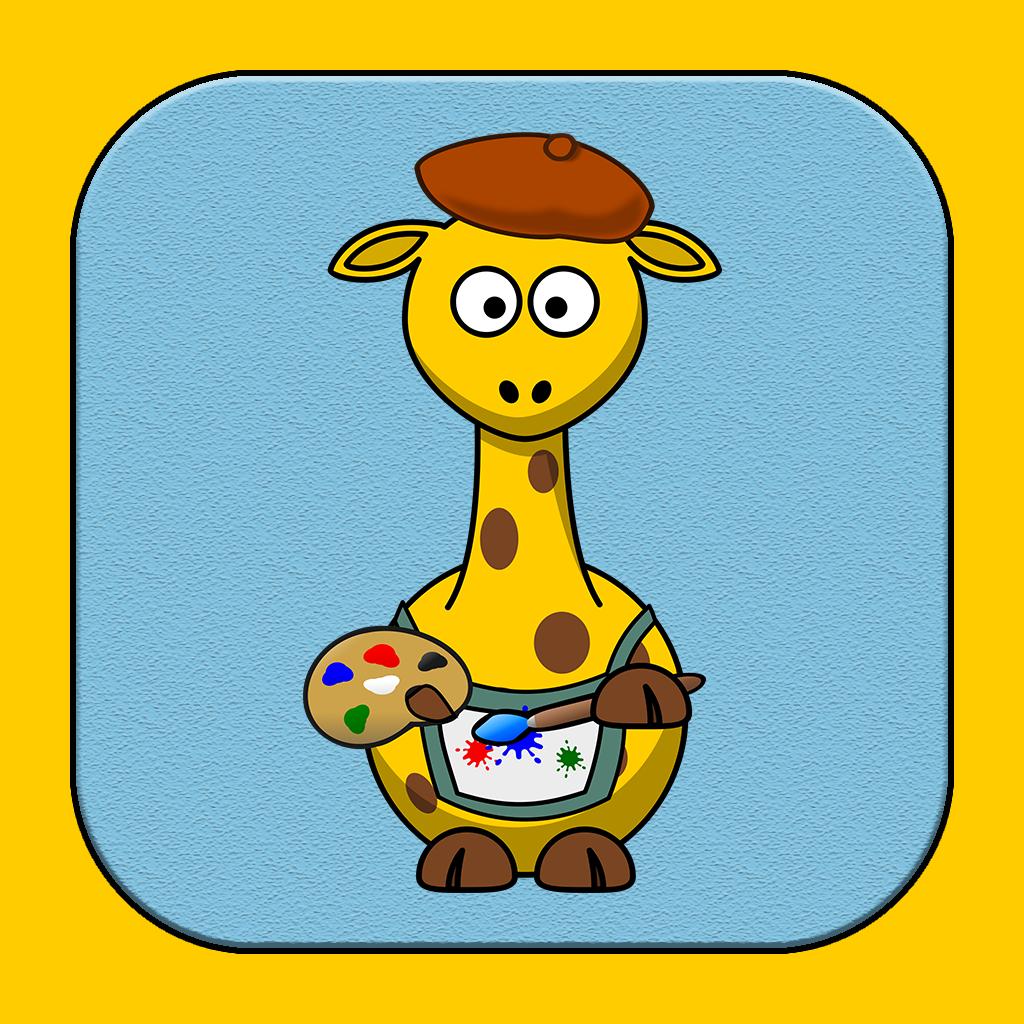 Sticker Fun with Giraffes