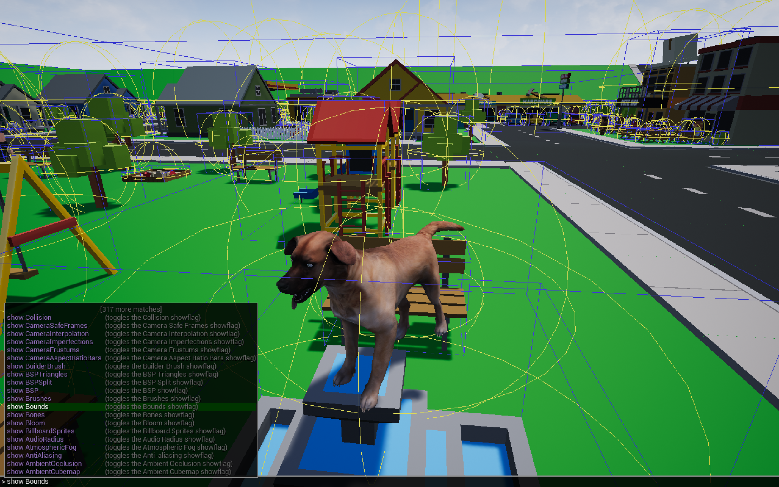 Game includes the UE4 Debug Console.png