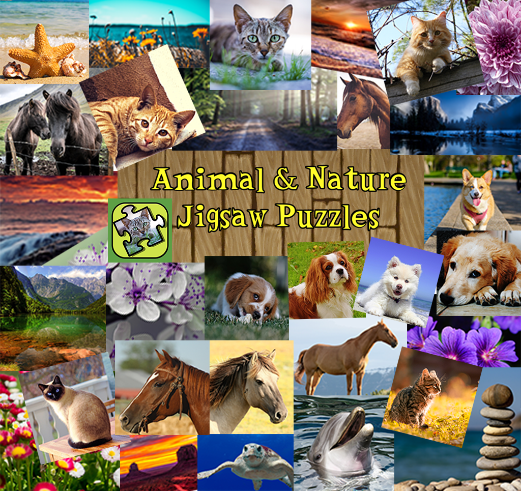 Animal & Nature Jigsaw Puzzles
