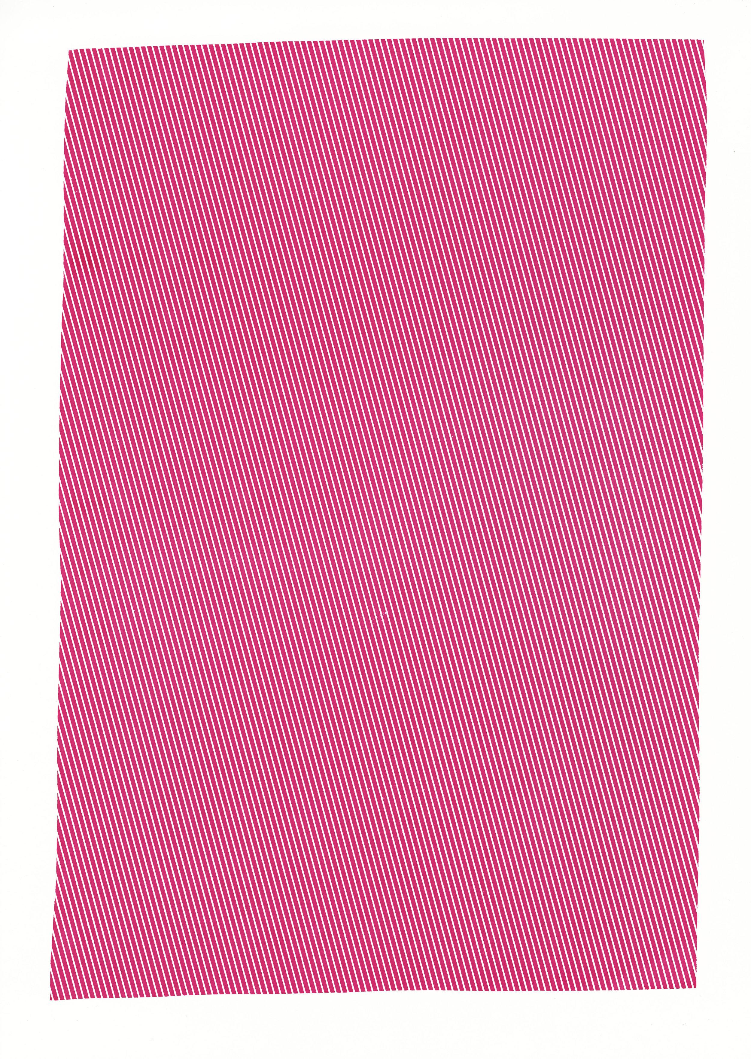 """Magenta study,2017, silkscreen, 19"""" x 12.5"""""""