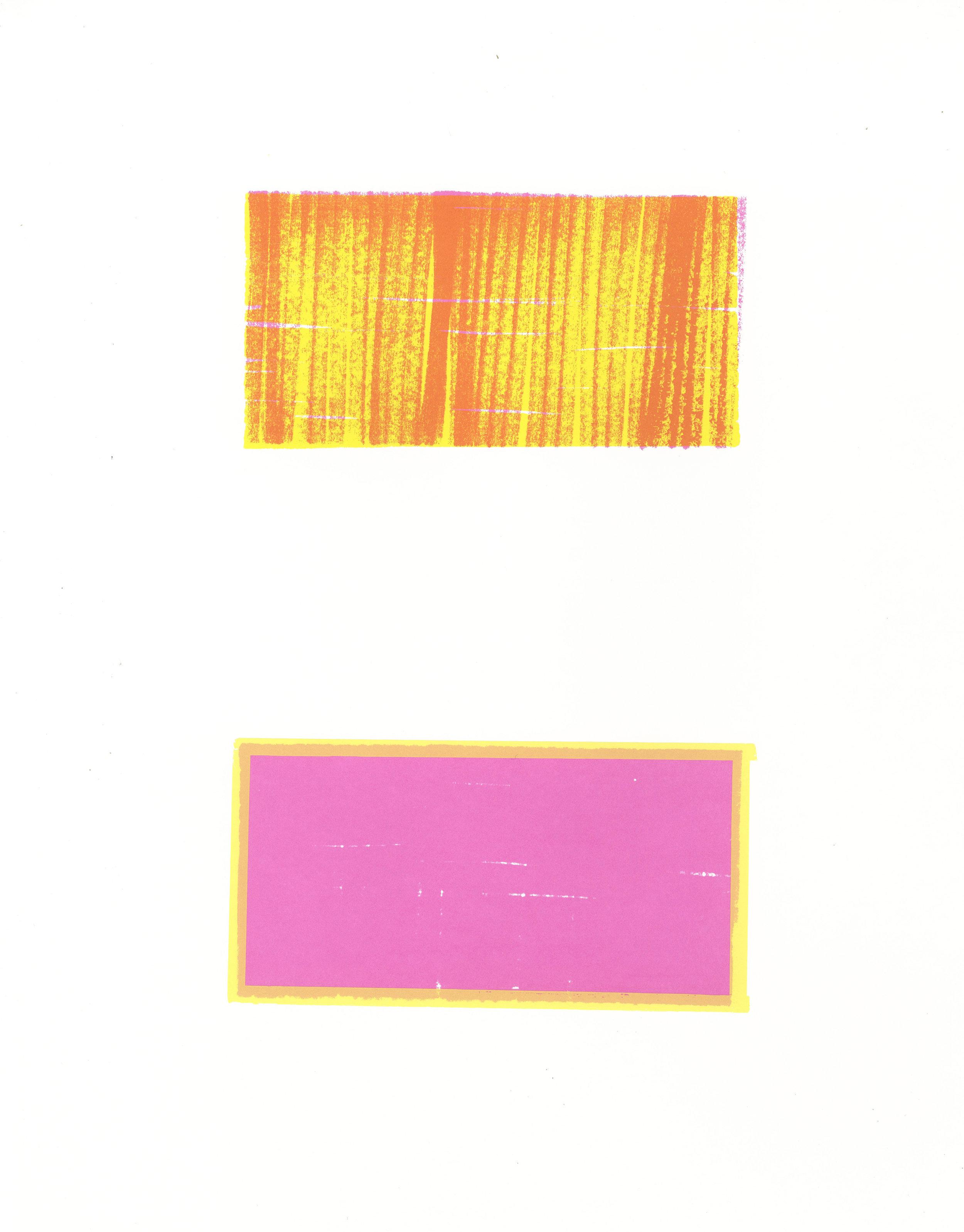 """my, 2016, silkscreen, 18"""" x 12.5"""""""