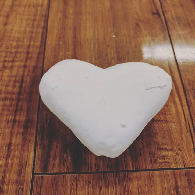 What does it mean when during the natural course of usage in the gym, a chalk block is rubbed into a ❤️?! . Happy Labor Day Weekend!