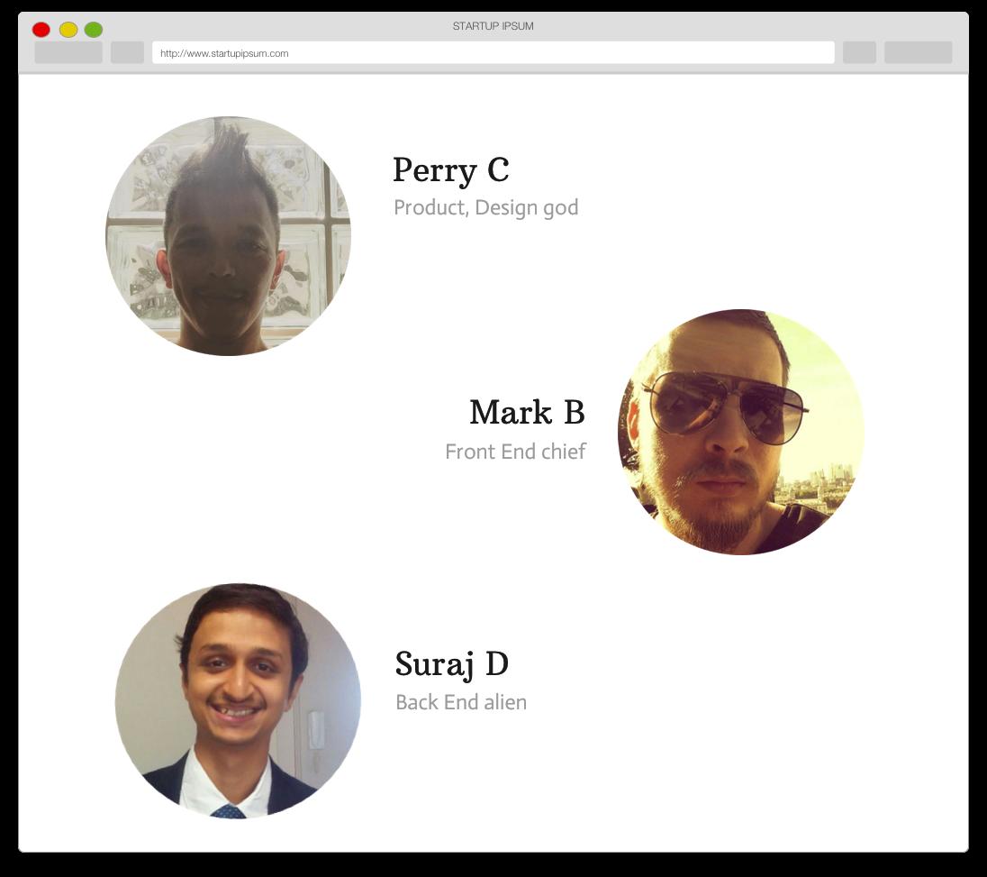 Startup Ipsum