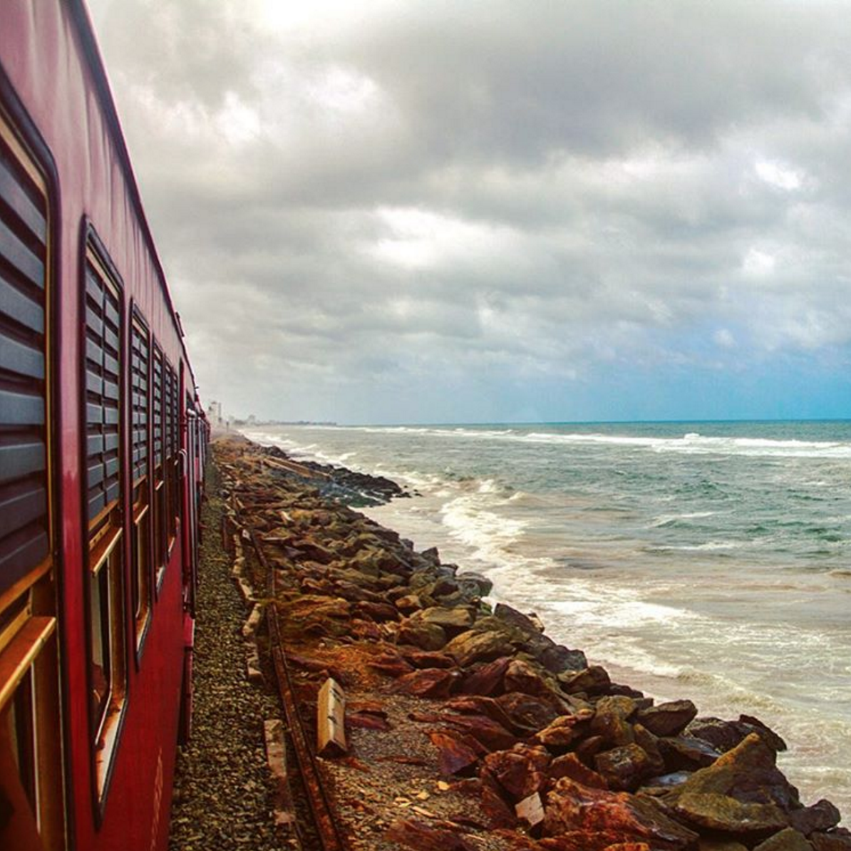 Galle to Colombo train