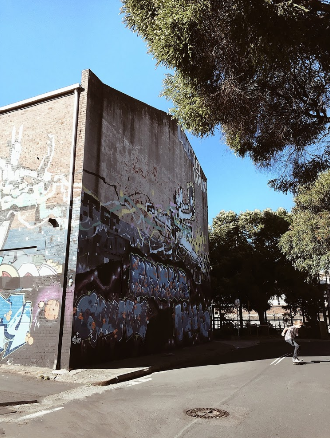 Skater  (Newtown) | #skater   #thatNewtownwallthough   #herehecomes