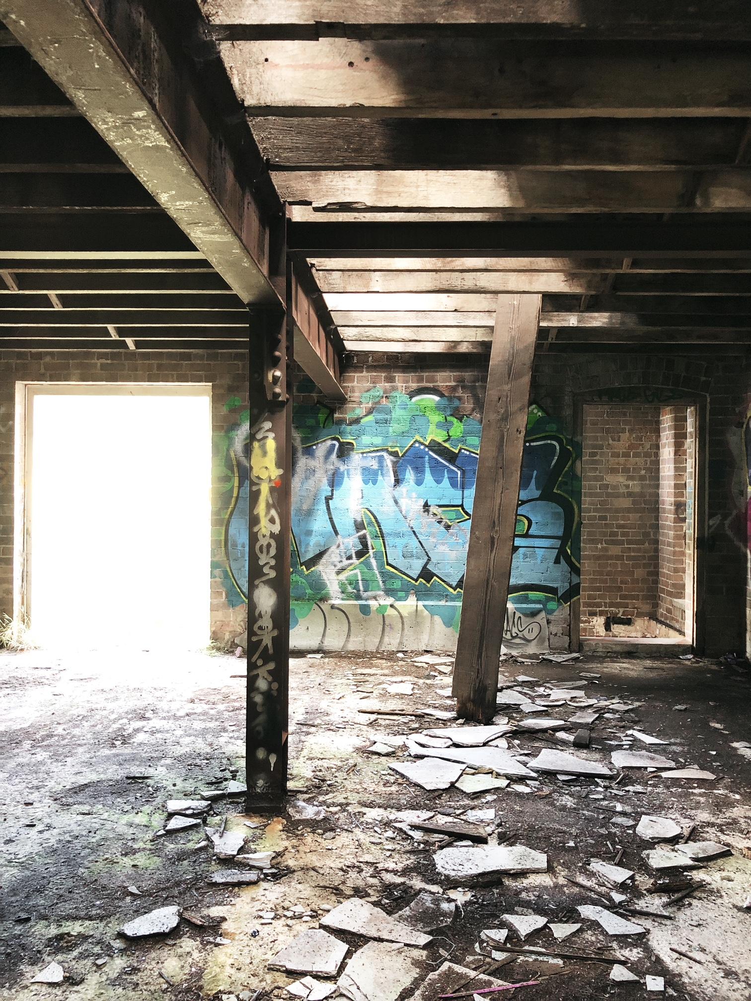 Urbanex dilapidated