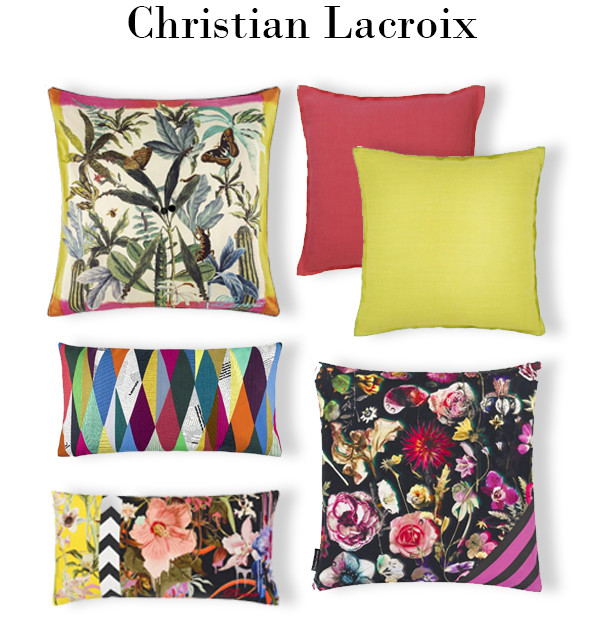 Be amazed by the latest Christian Lacroix collection of fabrics, wallpapers, rugs and cushions now in store. It certainly doesn't disappoint, with its exuberant, eclectic and eccentric designs.
