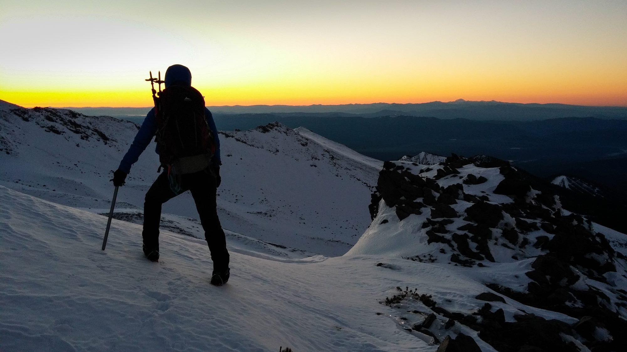 Sunrise over Mt Shasta