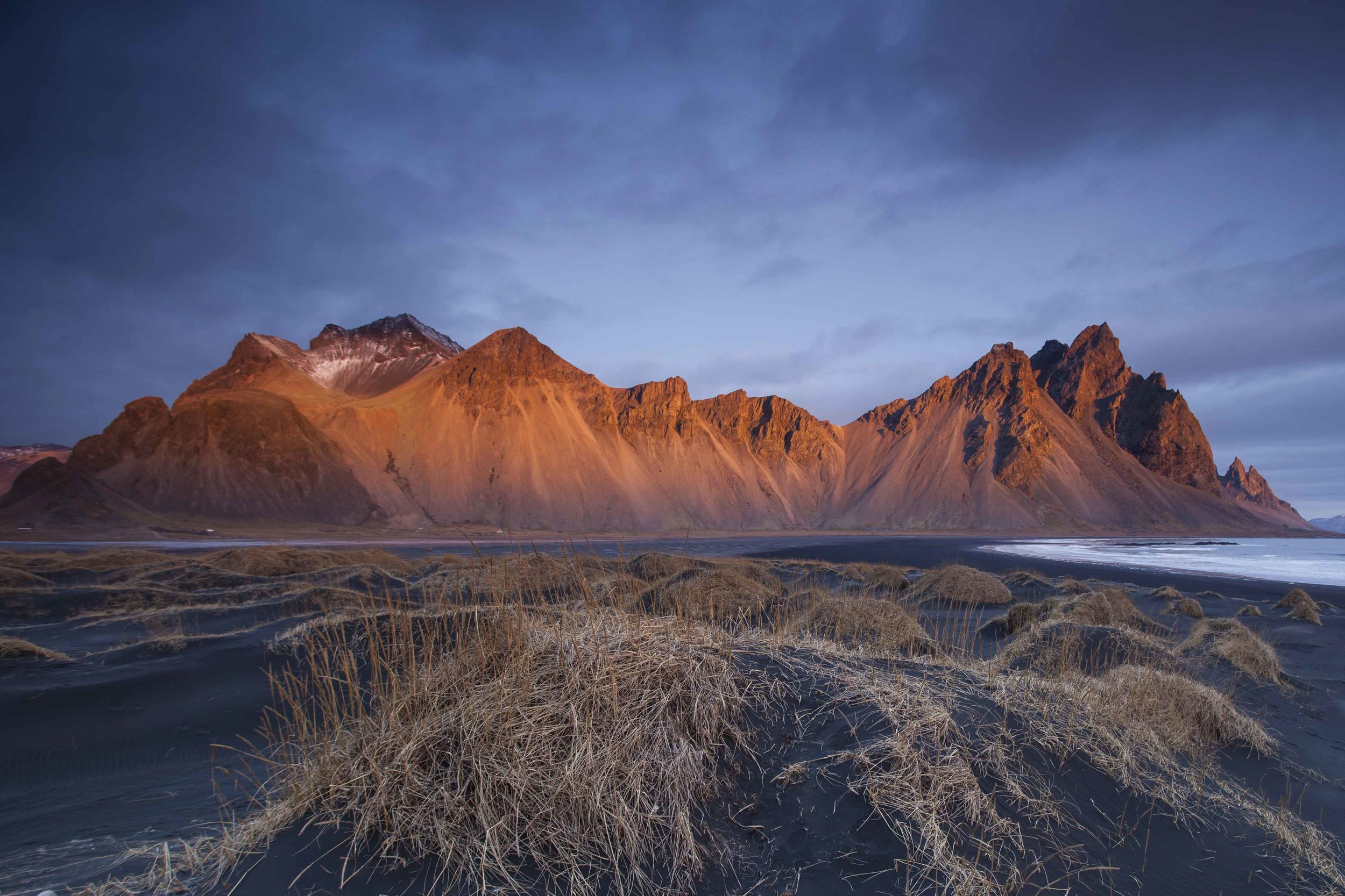 Vestrahorn at dawn