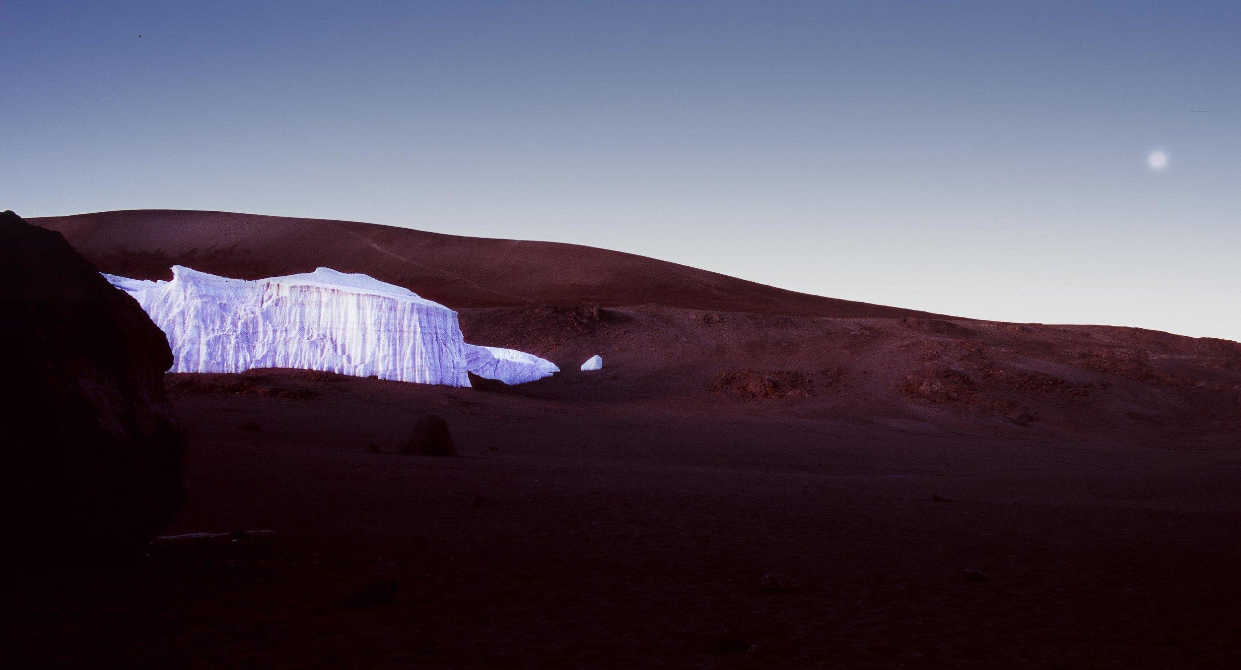 Last glaciers of Kilimanjaro