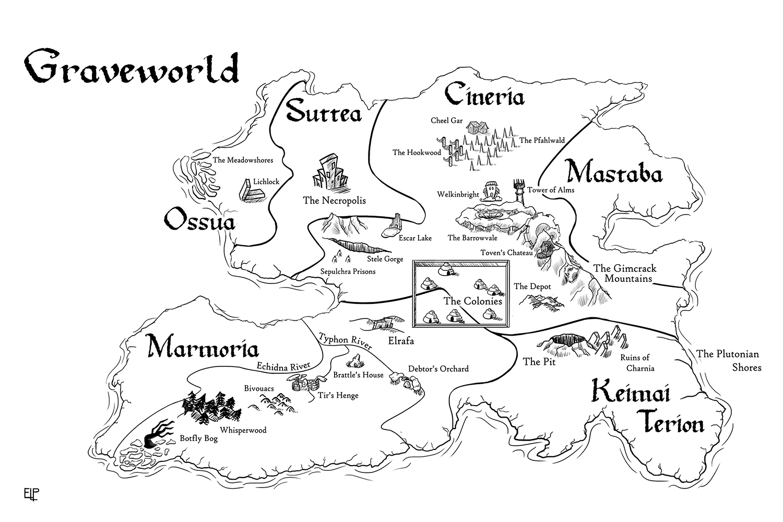 Graveworld Map