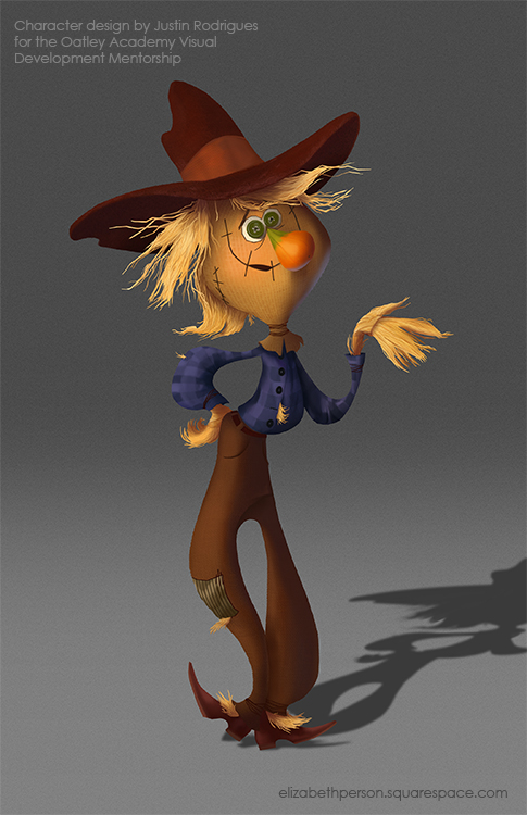 Scarecrow Character Painting