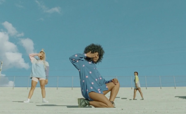 4.  Bosco ft st beauty band -  castles     The indie Atlanta-based songstress teamed up with the whimsical duo St Beauty Band to give us pastel lady boss vibes and we're all the way here for it. The visual, directed by Lacy Duke, creates a soft, washed out palette that puts you in the mind of a luxury thrift store. Even aside from all of the obvious black girl magic in the clothes and the visual, the song RIDES!