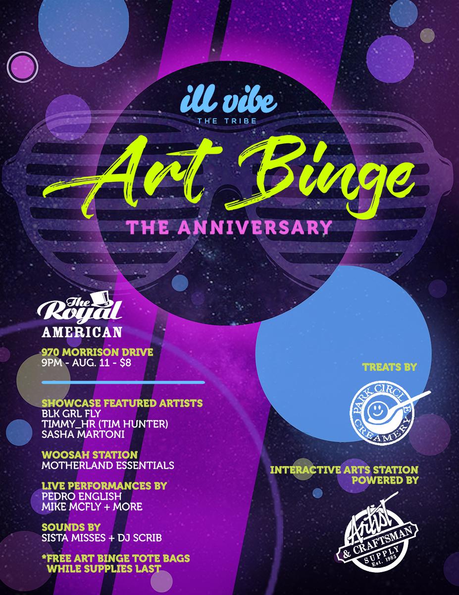 Art Binge V: The Anniversary