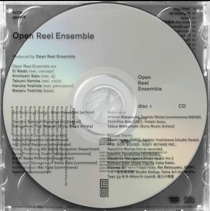 2012.06.27  Open Reel Ensemble
