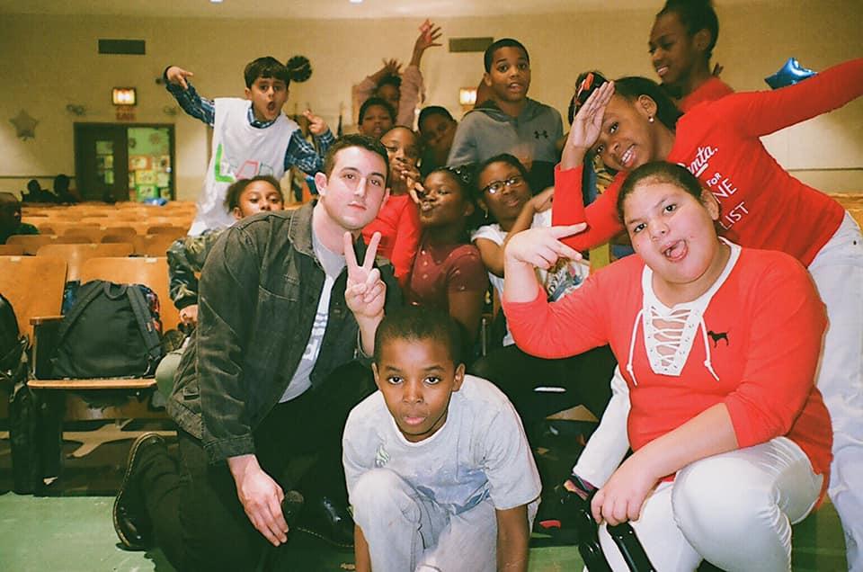 Theatre-Arts class at PS. 305k