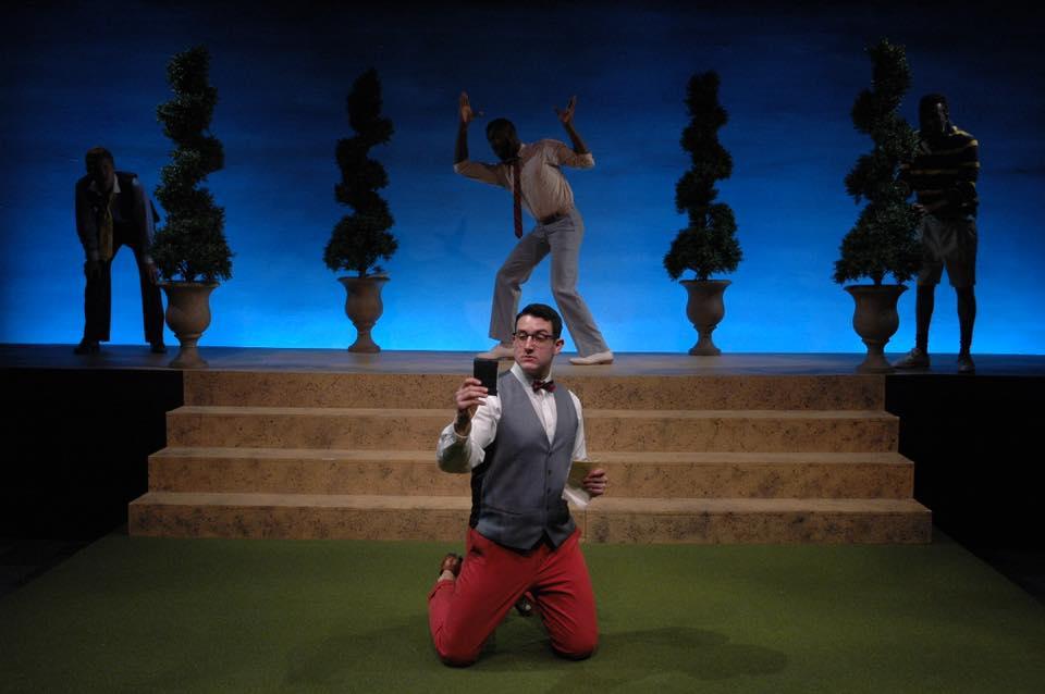 Love's Labor's Lost at Quintessence Theatre Group.