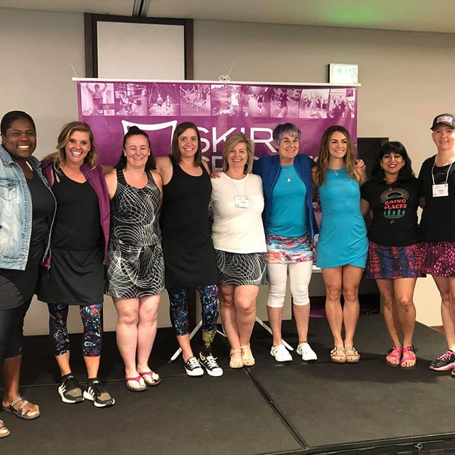 What a weekend! I am overjoyed, overwhelmed, humbled, and truly honored to be part of the 2019 Skirt Sports Ambassador retreat. This weekend was about cultivating and sustaining togetherness, being open to receiving feelings of community and love, and using new experiences to foster motivation.  I had a unique opportunity to speak in front of an amazing group of women, sharing a story of a truly tough time in my life. I shared my love of yoga with this same group of women. But most importantly, I learned so much from them.  Thank you to Skirt Sports for being such an advocate for all who came to join in this mission to move, to have fun, to be fit, and to be together.  PS- Yes that's the Mirnavator in my pics!!!! Can you say #fangirl 😍🥰 #skirtambassador #lonestaryoga #WomenWhoMove #bouldercolorado #retreat