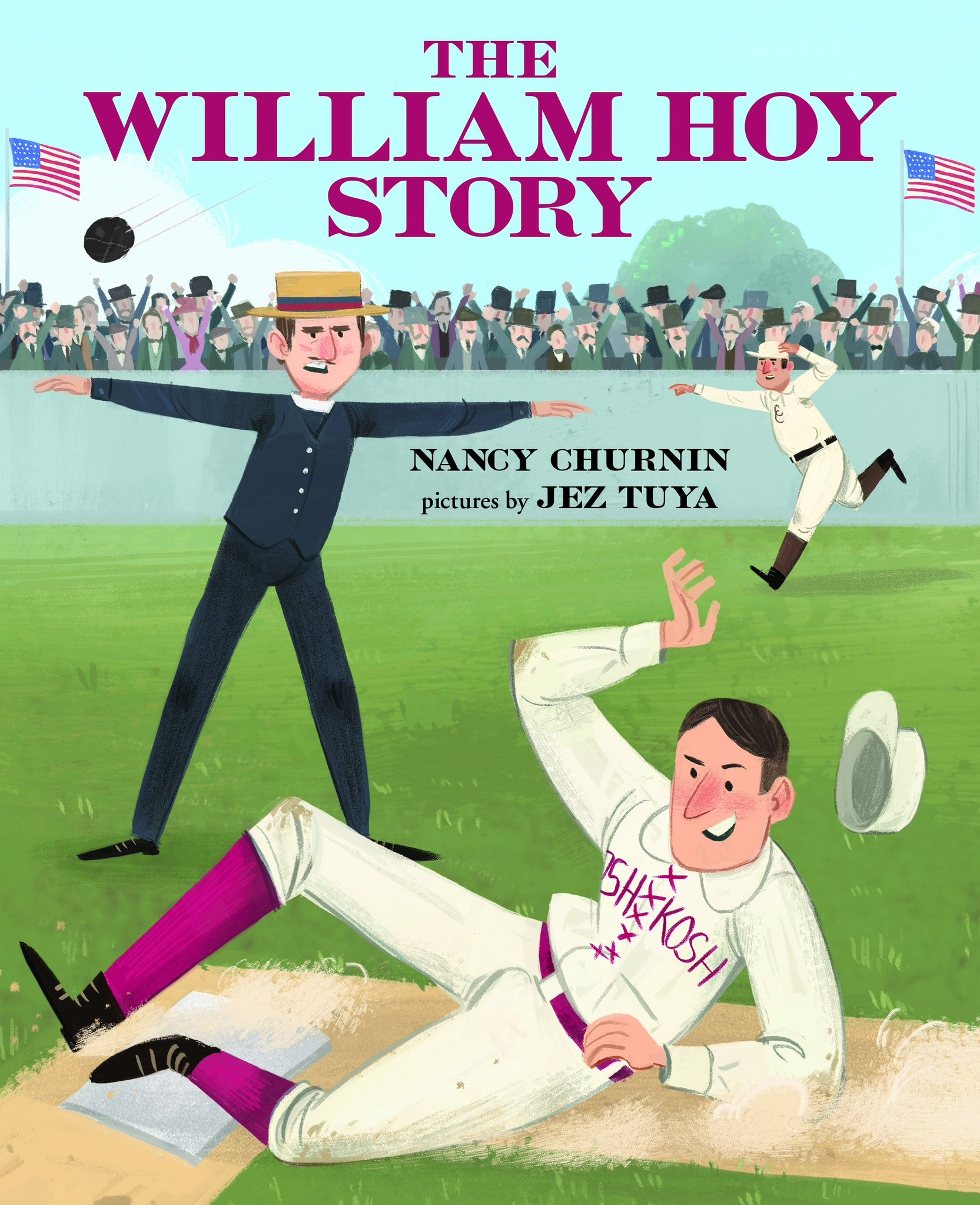 Teacher Guide for THE WILLIAM HOY STORY, HOW A DEAF BASEBALL PLAYER CHANGED THE GAME