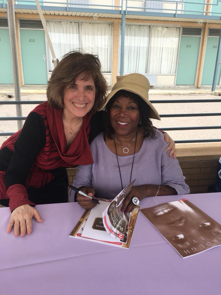 Honored to meet Ruby Bridges at the Ruby Bridges Reading Festival. I gave her CHARLIE TAKES HIS SHOT and she autographed her inspirational books for me!