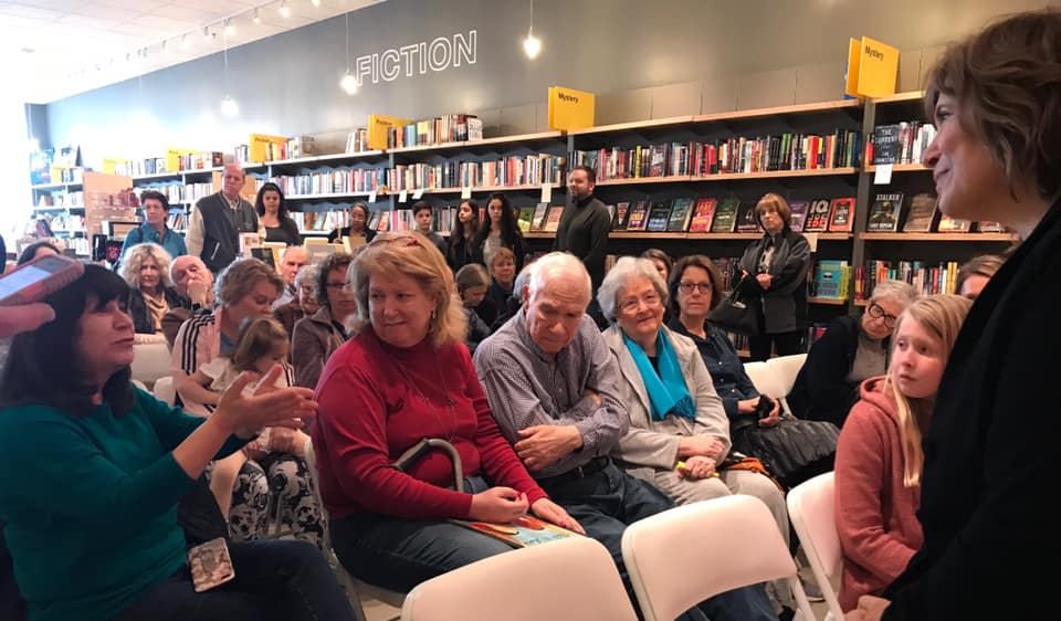 PICTURE FROM THE LAUNCH PARTY!   Martin & Anne, The Kindred Spirits of Dr. Martin Luther King, Jr. and Anne Frank   (illustrated by Yevgenia Nayberg, published by Creston Books, distributed by Lerner Books)  March 10, 2019 at Interabang Books in Dallas. Call Interabang for personalized copies. They'll give me a call and I'll drive over and autograph before you pick them or or they ship them out to you!    interabangbooks.com