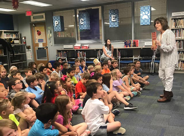 Using books to teach perseverance and character to kids at Prairie Creek Elementary