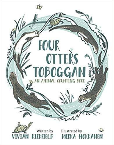Mirka Hokkanen, who illustrated Vivian Kirkfield's  Four Otters Toboggan , will illustrate Jenna's next book,  Harmony Humbolt  for Clear Fork Publishing.