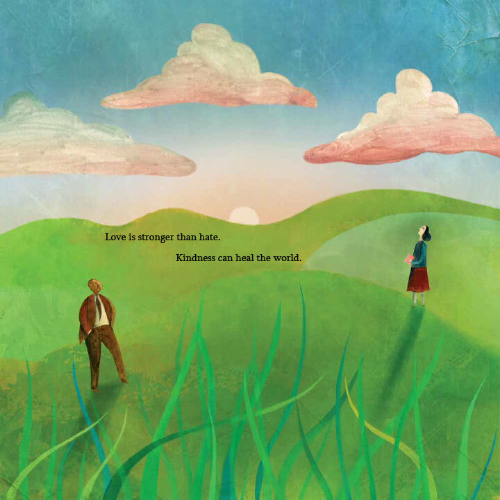 Martin & Anne, the Kindred Spirits of Dr. Martin Luther King, Jr. and Anne Frank by Nancy Churnin, illustrated by Yevgenia Nayberg (Creston Books/Lerner Books)