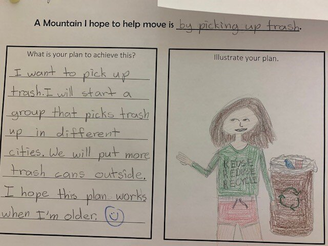The students at St. Thomas Aquinas Catholic School in Dallas are busy planning ways to move mountains! #STTHOMASAQUINASKIDSMOVEMOUNTAINS
