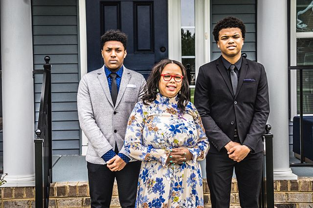"""""""You don't choose your family. They are God's gift to you, as you are to them."""" -Desmond Tutu ——-My tribe minus 1. - Easter 2018"""