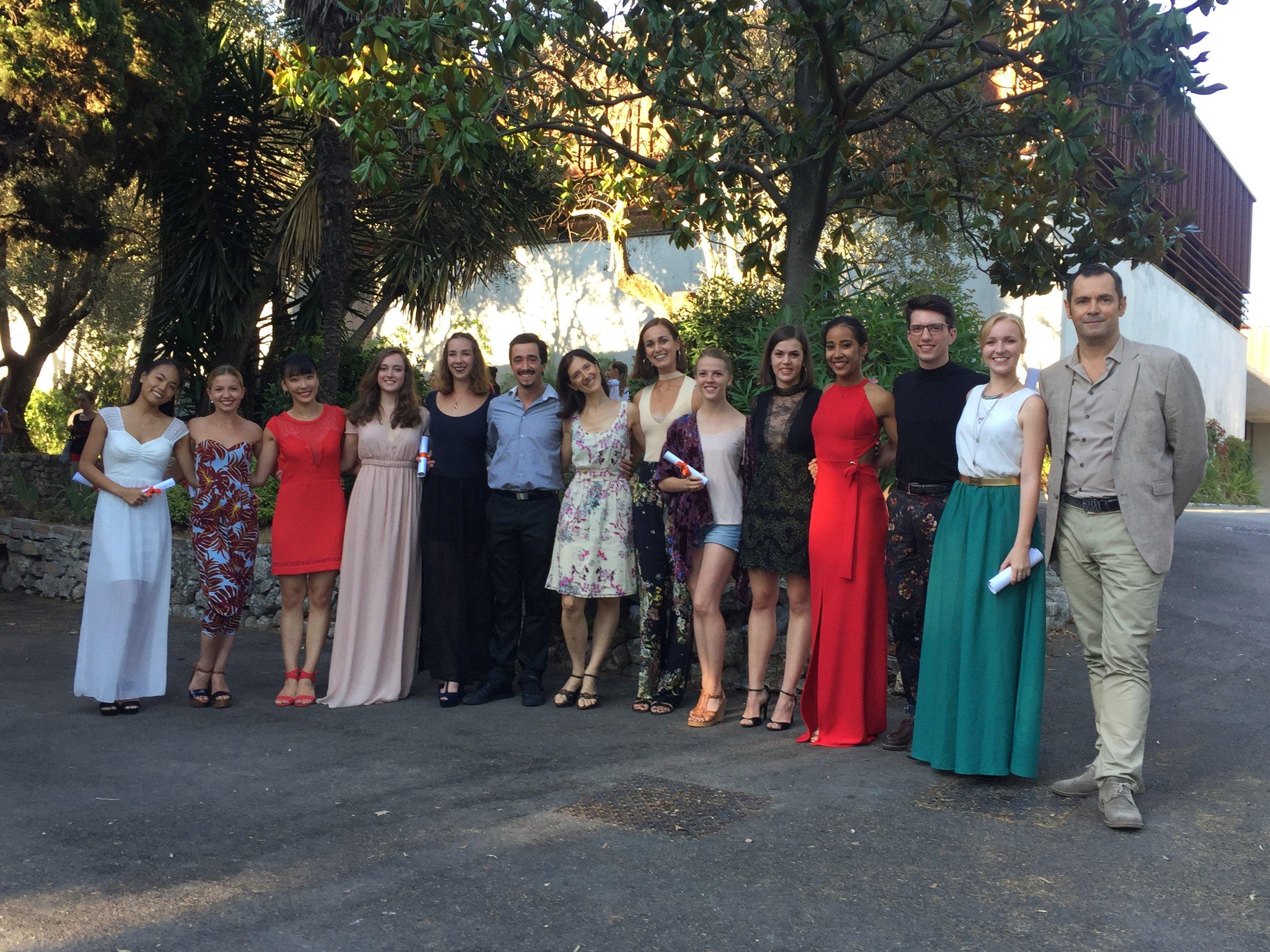 Les diplômés du Diplôme National Supérieur Professionnel du danseur