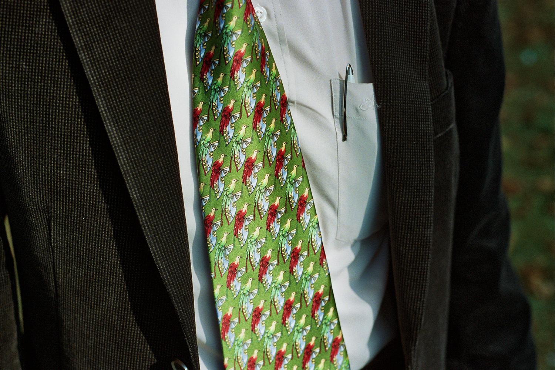 Father's tie - Paris, 2014