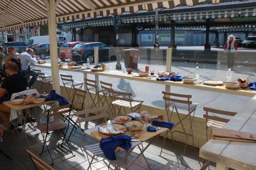 Lunch at Pescheria Gallina in Torino - Italy