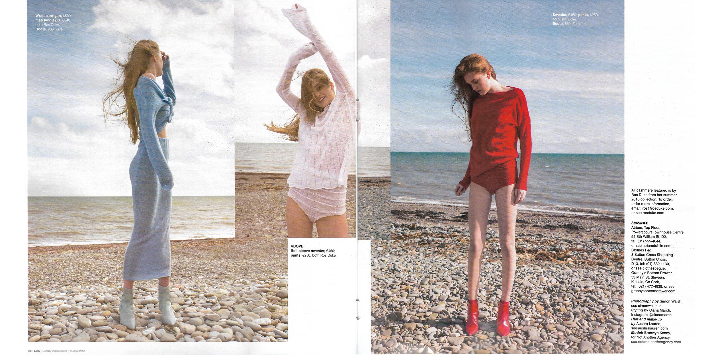 Sunday Independent LIFE Magazine April '18