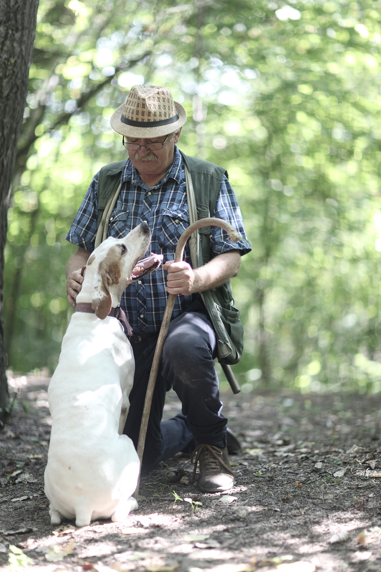 TRUFFLE HUNTING AND COOKING with JAN HENDRIK