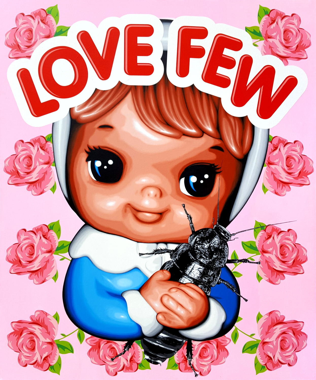 Love Few - Acrylic on canvas, 130cm x 110cm. 2017