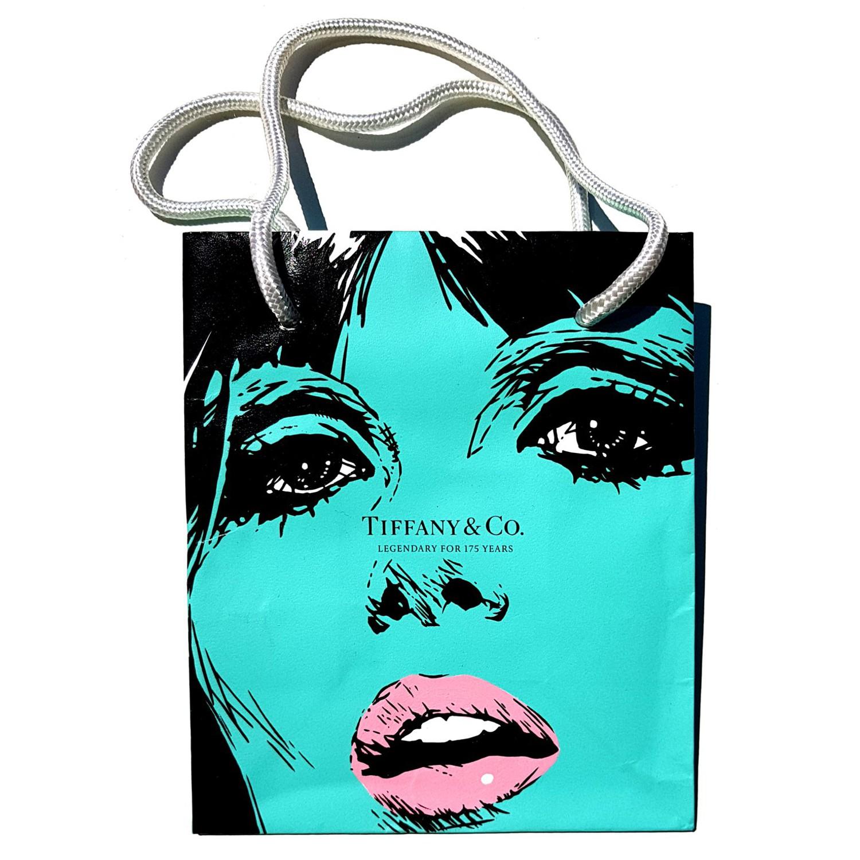 Legendary - Acrylic on fashion bag - 2018