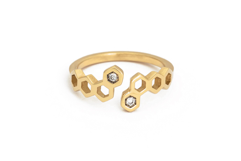 Honeycombs Nectar Ring
