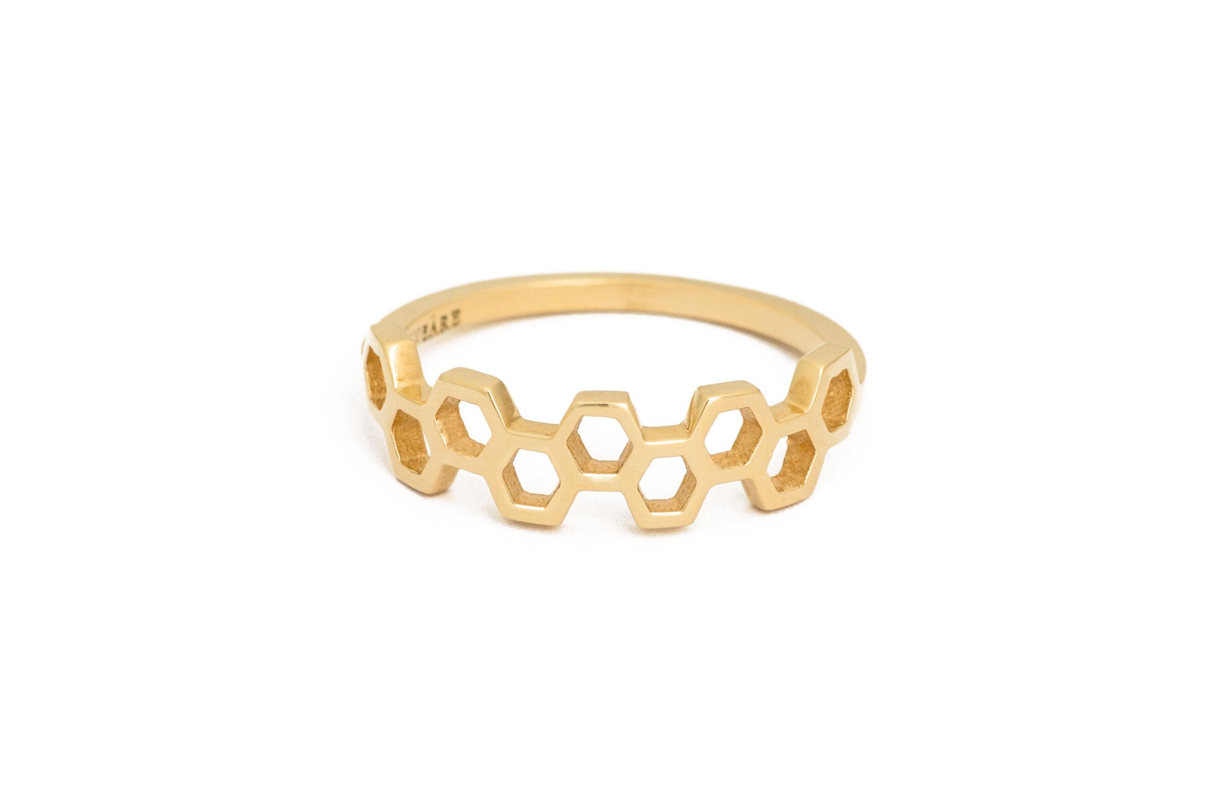 Honeycombs Apis Ring