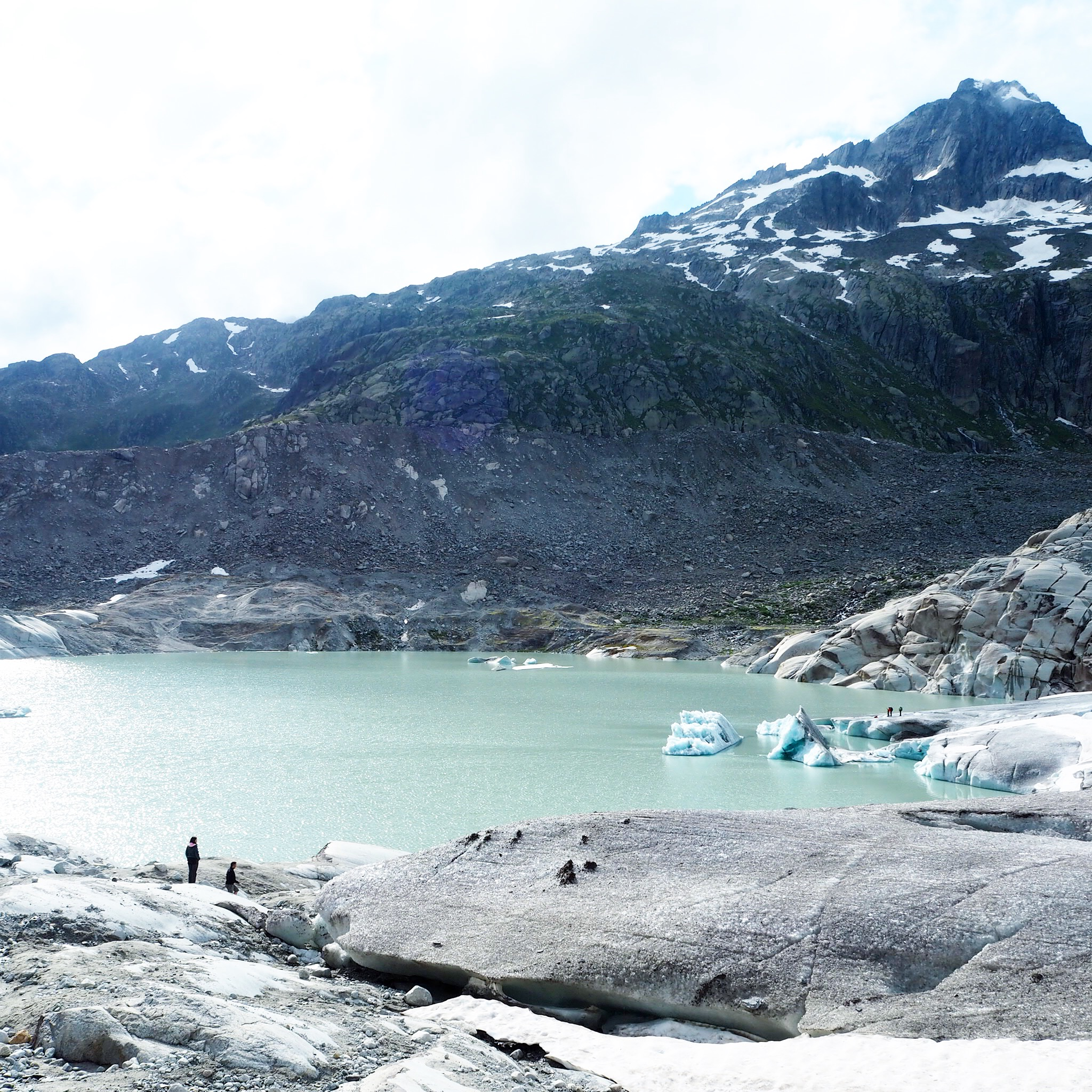 Ledovcové jezero  Glacial lake