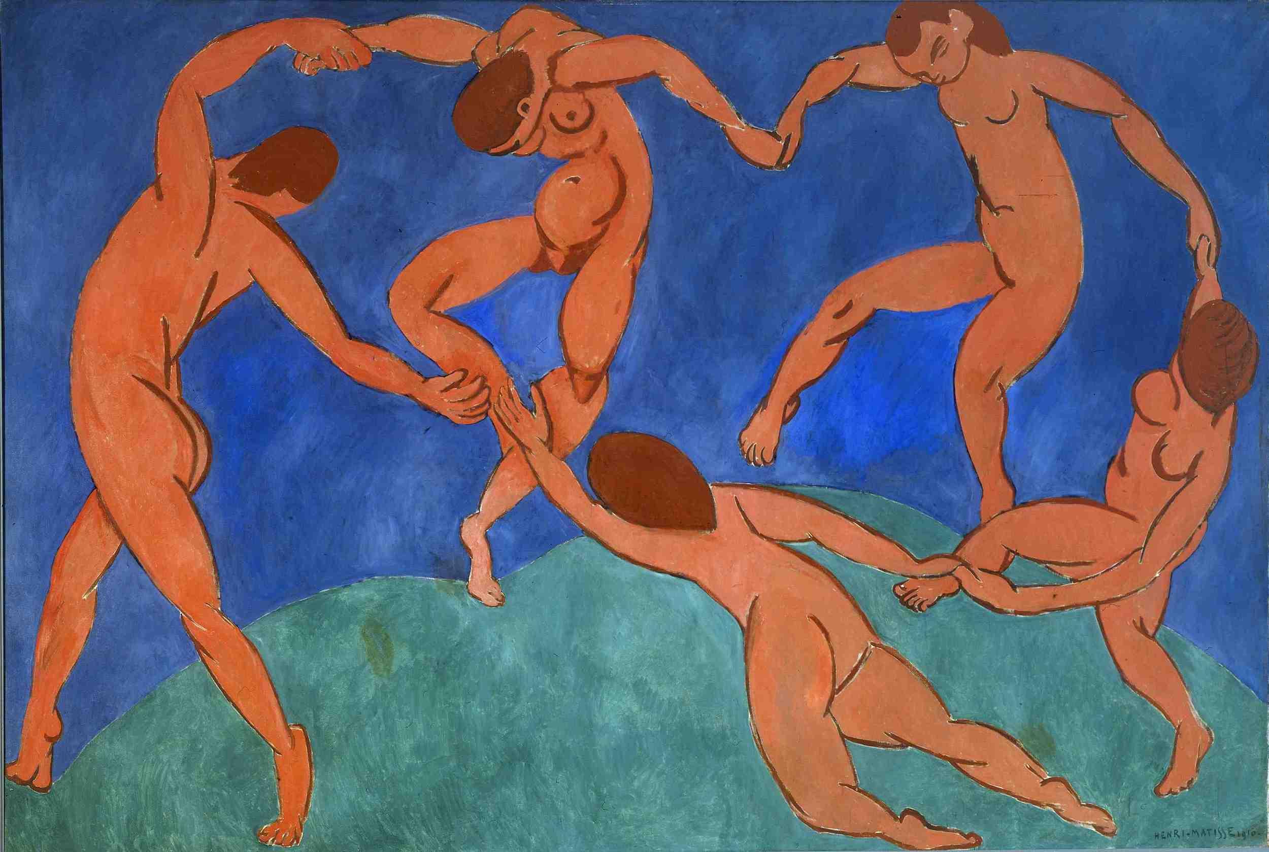 Matisse, La Danse II, 1932
