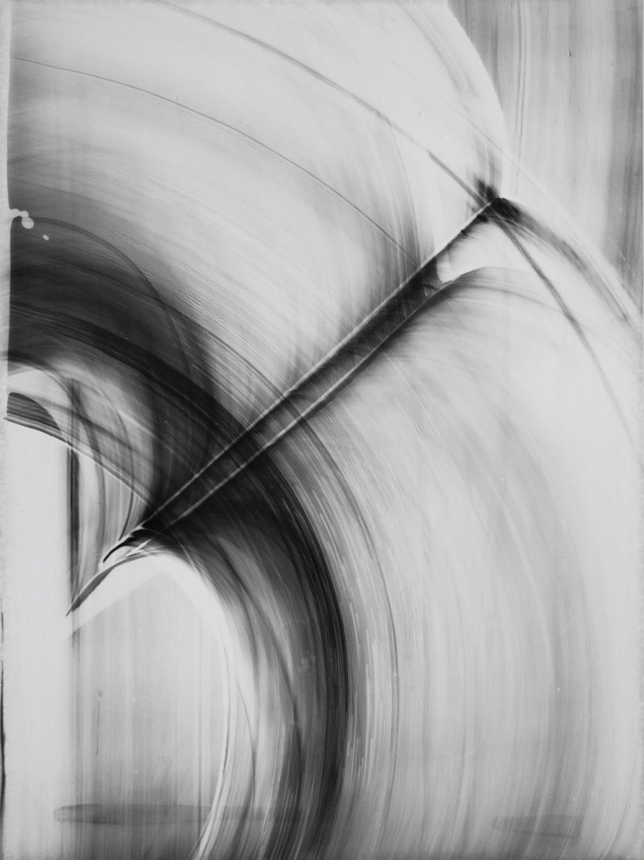 Blind Light 15 , unique photogram, 40 x 30cm