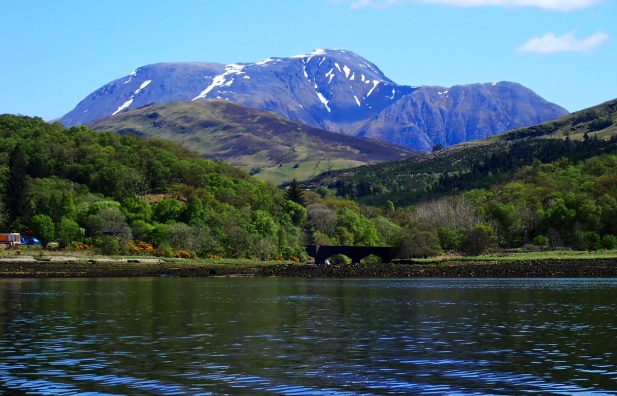 Ben Nevis from Loch Linnhe