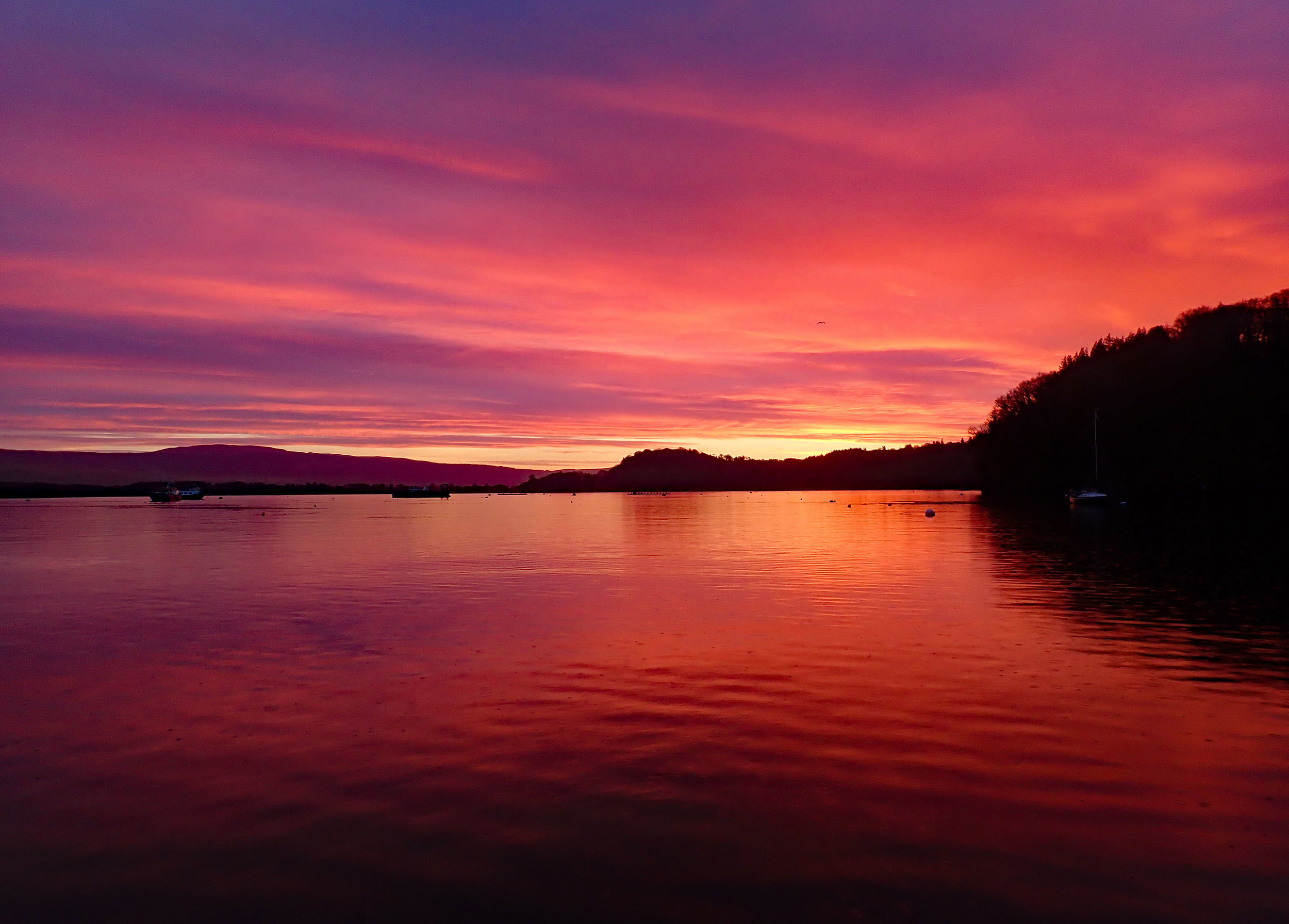 Tobermory Sunrise, January 2019